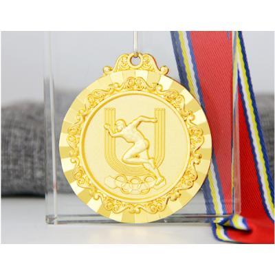 奧運精神田徑鋅合金獎牌